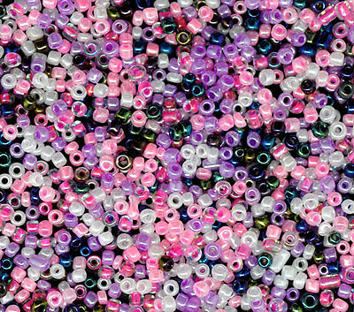 10000PCs Mixed Opaque Round Glass Seed Beads 10/0 Jewelry Making