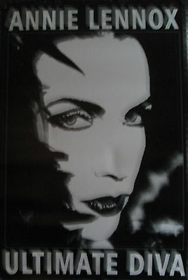 "Annie Lennox Ultimate Diva Original Poster 1990's 36"" X 24"" Rolled Mint"