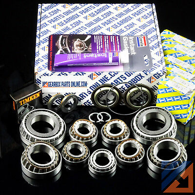 Fiat Croma M32 uprated gearbox repair kit contains 9 bearings seals