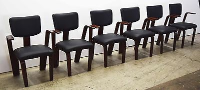 Thonet Bentwood Chairs - Set of 6, Mid-Century 1900-1950 #1369