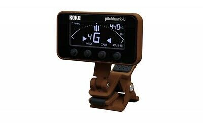 Korg Pitchhawk-U AW3U Guitar Tuner Clip on Ukulele Tuner Pitch Hawk AW 3U