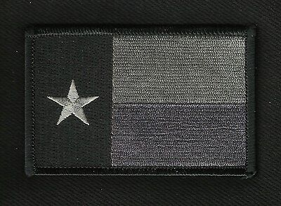 SUBDUED TEXAS FLAG IRON-ON MOTORCYCLE MILITARY BIKER PATCH