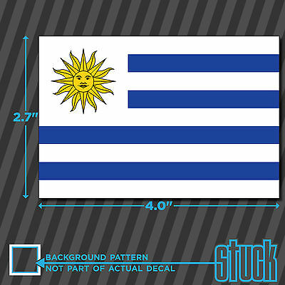 "4/""x 2.7/"" Aruba Flag vinyl decal sticker self adhesive country Aruban"
