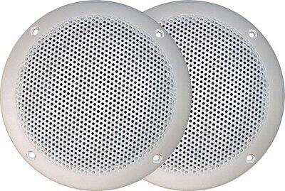 Axis Ma500S Marine Speakers Outdoor Waterproof Flush Suit Cd Stereo Mp3 Am Fm