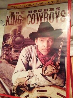 King of the Cowboys (DVD, 2014)  BRAND NEW AND SEALED:   4 BONUS MOVIES