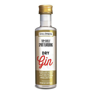 Still Spirits Top Shelf Dry Gin home brew spirit essence Makes 2.25 Litres