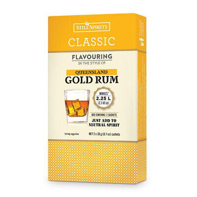 Still Spirits Classic Queensland Gold Rum Home Brew Spirit Essence