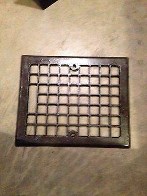 Gr 46 Square Design Antique Cast-Iron Heating Grate Faceplate