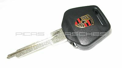 NEW PORSCHE 911 930 964 993 LED LIGHTED KEY HEAD AND NEW KEY BLANK SUPER BRIGHT