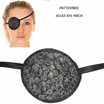 Medical Eye Patch, SILVER GREY PEBBLES , Soft & Washable, Sold to the NHS