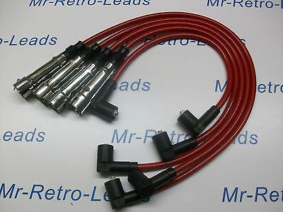Red 8Mm Performance Ignition Leads Will Fit Vw Polo 1.4 Quality Build Ht Leads..