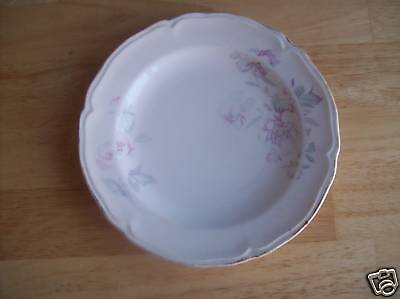 Edwin Knowels Flower China Saucer