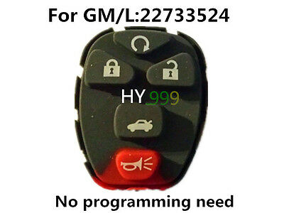 GM remote keyless entry fob pad