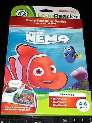Leap Frog Leap Reader&Tag  Disney Pixar Finding Nemo Learning Book 4-6 Years