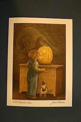 The Pumpkin Man James Lumbers Collectors Art Cards Six Pack (No Envelopes)