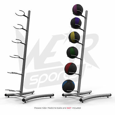 Medicine Ball Slam Ball Rack Stand Tower Gym Training & Exercise Fitness Workout