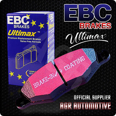 Ebc Ultimax Rear Pads Dp1477 For Ssangyong Kyron 2.7 Td 2006-