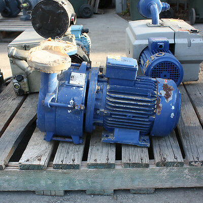 BUSCH LC 0150 Liquid Ring Vacuum pump 1.5in 40mm 33 HPA (MBAR) CAPACITY 145 M3H