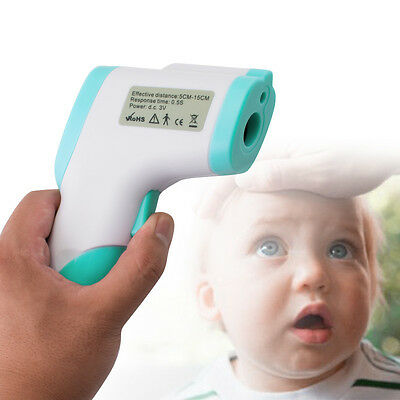 2016 Body Skin Digital Non-contact Infrared IR Thermometer For Baby Kids Adult