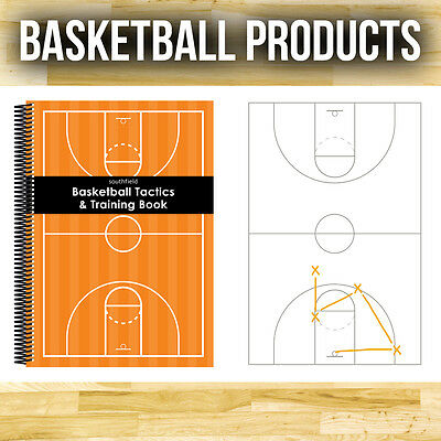 3 X A4  Basketball Tactics Notepads - For Training And Coaching