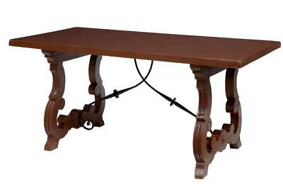 19Th Century Painted Spanish Influenced Small Dining Table