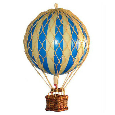 Authentic Models Small Model Hot Air Balloon Blue Mobile