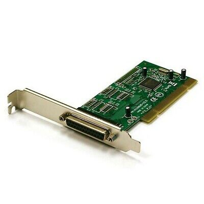 1 Single Parallel DB25 DB 25 25pin RS232 Port 32bit PCI Expansion Card for PC