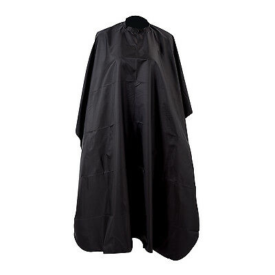 Pro Black Wholesale Salon Hair Cut Hairdressing Barbers Cape Black Gown New ED
