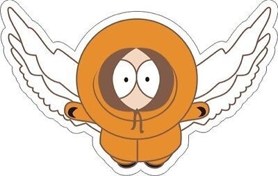"""South Park Kenny (Wings) Sticker - 3.5"""" x 5.5"""""""