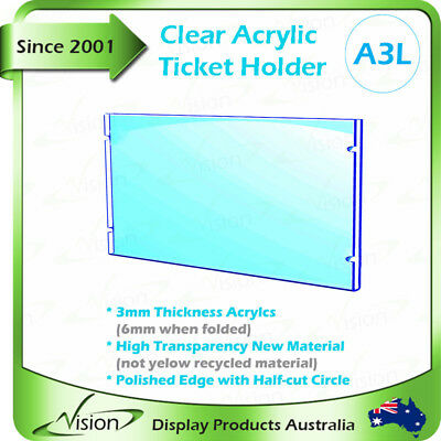 Plastic Frame, Signage Holder for Advertising Window Real Estate,Acrylic A3 L