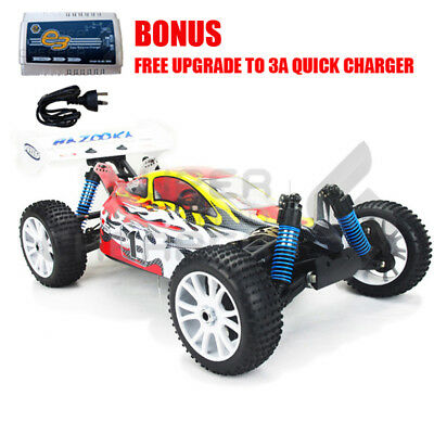 HSP 2.4ghz RC Car TOP Version BAZOOKA 4s lipo 1/8 Brushless Motor 100A ESC 4WD O