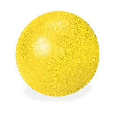 PALLA PILATES Soft Gym esercizi OVER BALL 25 cm Fitness Aerobica Fit Gialla kids