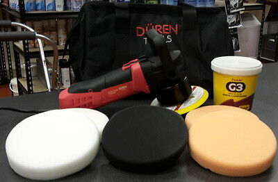 Electric Polisher Car Valeting Kit  With Farecla G3