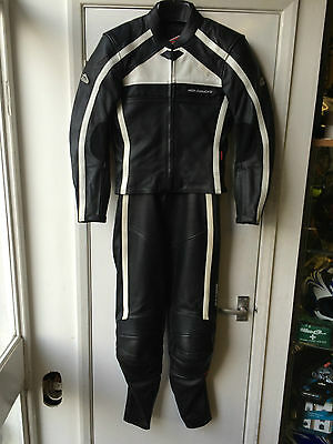 Hein Gericke Ladies 2 Piece Motorcycle Leather Suit Leathers