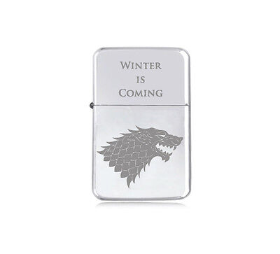 ★STAR★ house STARK engraved LIGHTER silver black pink gold GAME OF THRONES