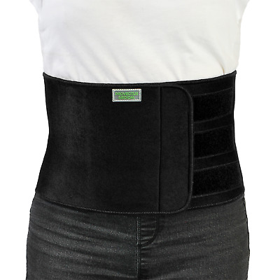 Neoprene Back/Waist Pain Lumbar Support Therapy Belt in Black Gym Sports NHS
