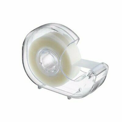 "Clear Office Transparent Tape 3/4"" x1000"" w/ Desktop Stationery Tape Dispenser"