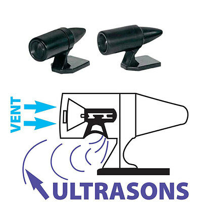 2 Sifflet Ultrasons Ultra Son Anti-Gibier Repousse Gibier pour Voiture 4x4 -1388