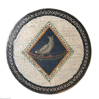 Very old Roman Micro Mosaic, End of 18th c./Beginning of 19th c.     (536)