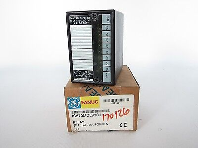 New GE Fanuc 8PT Relay Module ISLO 2A FORM A IC670MDL930J
