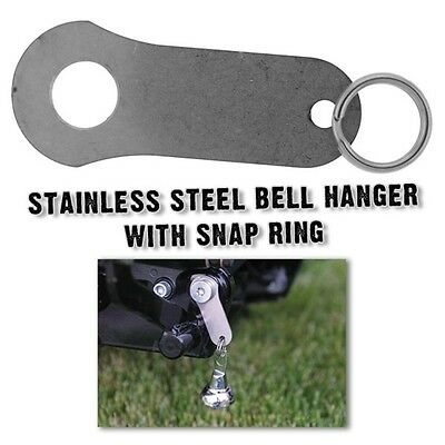 Biker Motorcycle Stainless Steel Guardian Bell Hanger