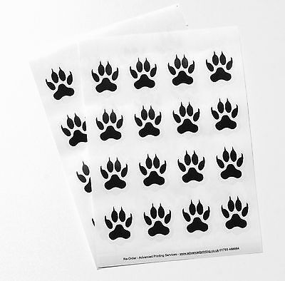 Blank Labels Paw Print Stickers Labels Month Graphic Design