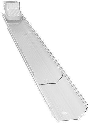 2 Downspout extension-Alu-Rex Elements Extend & Rotate Extension White