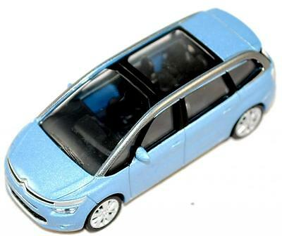 "Citroen New C4 Picasso Model Car 3"" Blue New and Genuine AMC19144"