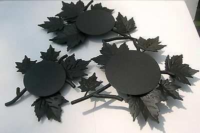 LONGABERGER Wrought Iron Fall Foliage Centerpiece, 3 pieces - NEW IN BOX