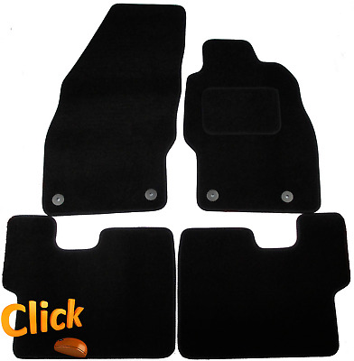 Vauxhall Corsa D 2006-2014 Fully Tailored Deluxe Car Mats in Black