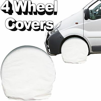 "Paint Masking Wheel Covers 4pc Tool Garage Auto Refinisher 13"" - 15"" Tyre Covers"