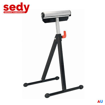 Roller Support Stand Foldable Heavy Duty Steel Adjustable Storage 60Kg Capacity