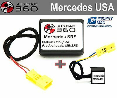 Mercedes Front Passenger Seat Occupancy Child Seat Recognition Emulator bypass