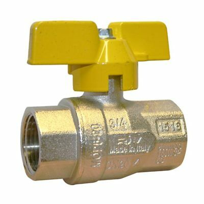 """BRASS BSPP BALL VALVE - GAS APPROVED - BUTTERFLY HANDLE - BS EN 331 - 1/4"""" To 1"""""""